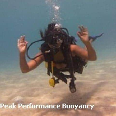 D15aDJL Diving Koh Tao Peak Performance buoyancy speciality