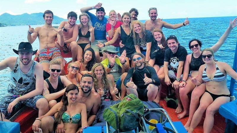 divemaster internship davy jones locker koh tao