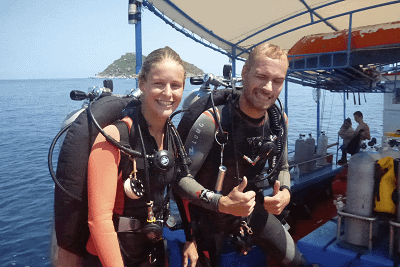 T214tech dive courses thailand