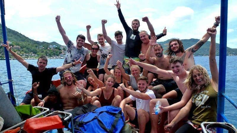 davy jones locker diving koh tao